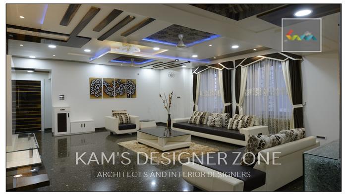 Find Living Room Interior Designer In Pune