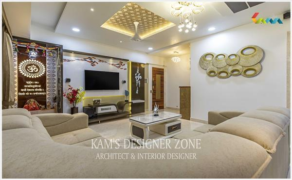 Flat Interior Design For Mr. Mukesh Agarwal